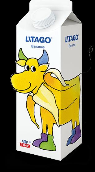Produktbilde av Litago med smak av bananas